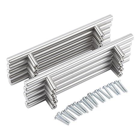 Yosoo – Paquete de 20 tiradores de acero inoxidable para armarios de cocina