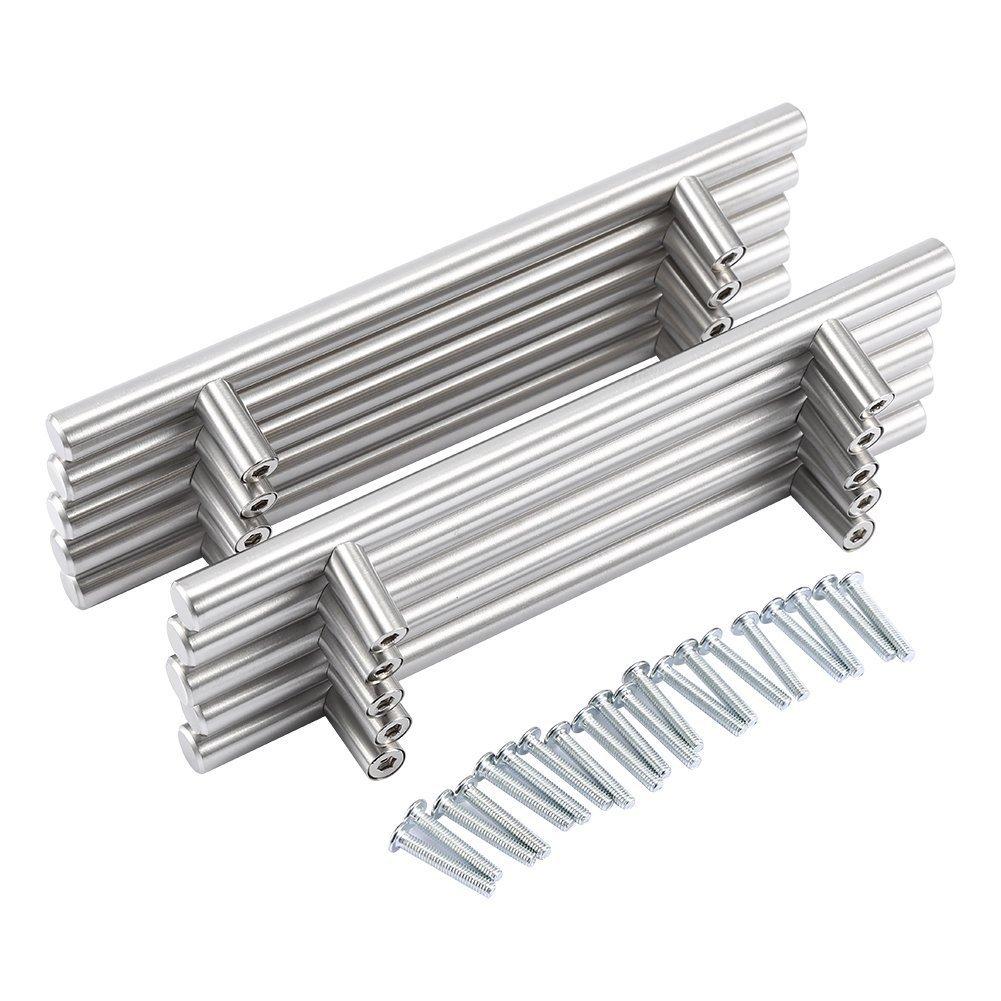 Yosoo–Paquete de 20tiradores de acero inoxidable para armarios