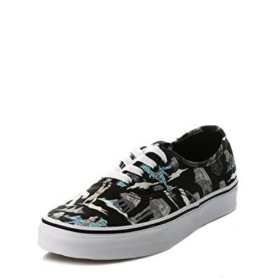 c564dbd26d Vans Mens Womens Authentic Star Wars Dark Side   Planet Hoth Canvas  Trainers  Amazon.co.uk  Shoes   Bags