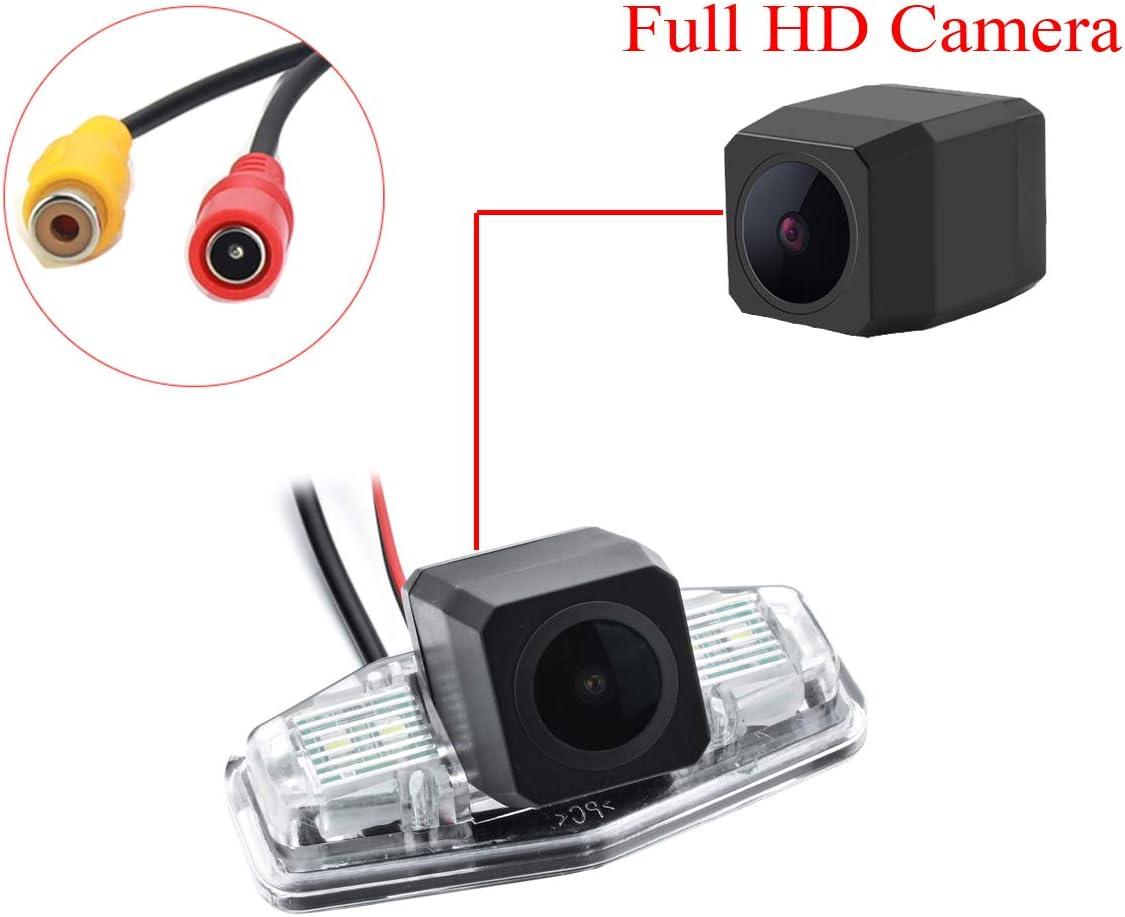 Chrome Starlight Camera aSATAH Chrome Starlight Car Rear View Camera for Honda Accord//Inspire//Spirior//Honda Civic VII VIII//Honda City 4D /& Waterproof and Shockproof Reversing Backup Camera