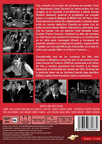 Rififi [DVD]: Amazon.es: Jean Servais, Carl Möhner, Robert Manuel, Jules Dassin, Magali Noël, Pierre Grasset, Robert Hossein, Janine Darcey, Marie Sabouret, ...