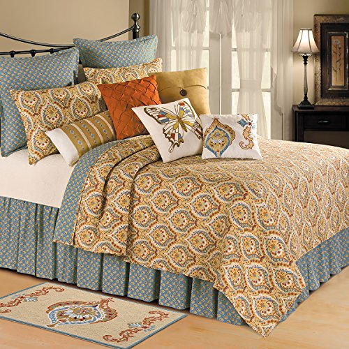 Queen Mandalay (C&F Home Mandalay Full/Queen Quilt Queen Tan)