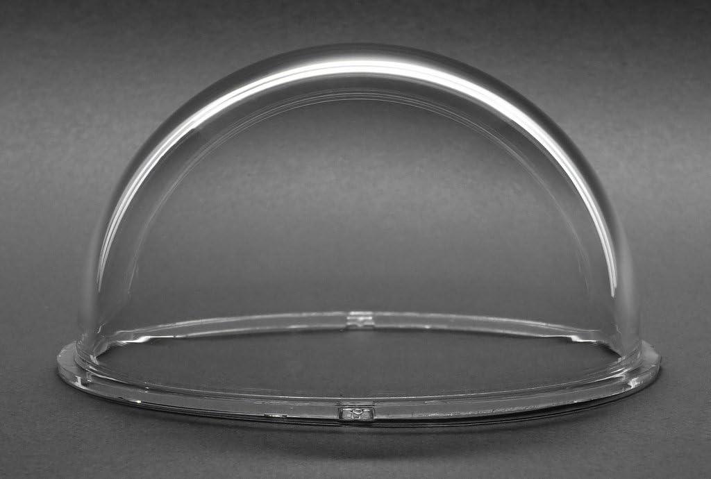 JMX 3,1 pulgadas, acr/ílico interior//exterior Carcasa de repuesto para c/ámara domo de seguridad