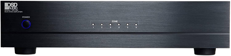 Amazon Com Osd Audio Mx1260 12 Channel Six Stereo Zones 60 Watt Peak Per Channel Or Bridged Mono 80 Watts Per Zone Channel Includes A Choice Of Direct