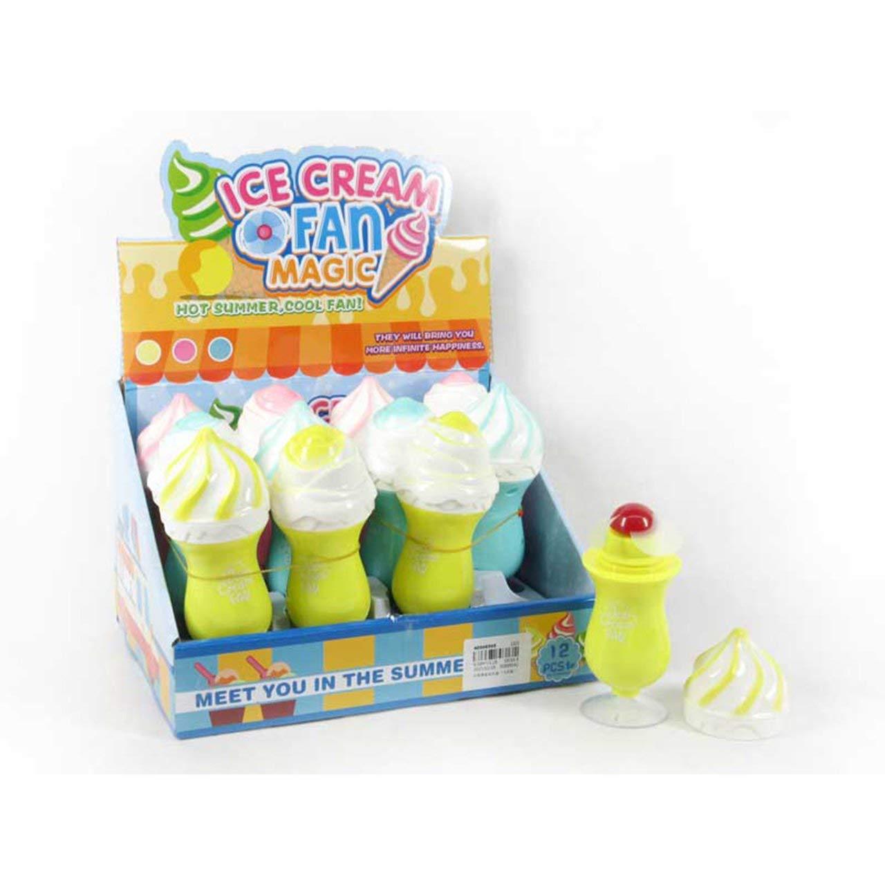 Jasnyfall Eiscreme elektrischer Ventilator Kind Spielzeug Kinder Kinder pädagogisches Spielzeug Geschenk Spielzeug zufällig 245 × 180 × 150