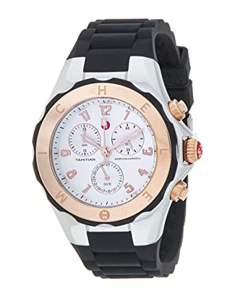 1d9981527 Image Unavailable. Image not available for. Color: Michele Women's Jelly  Bean Watch