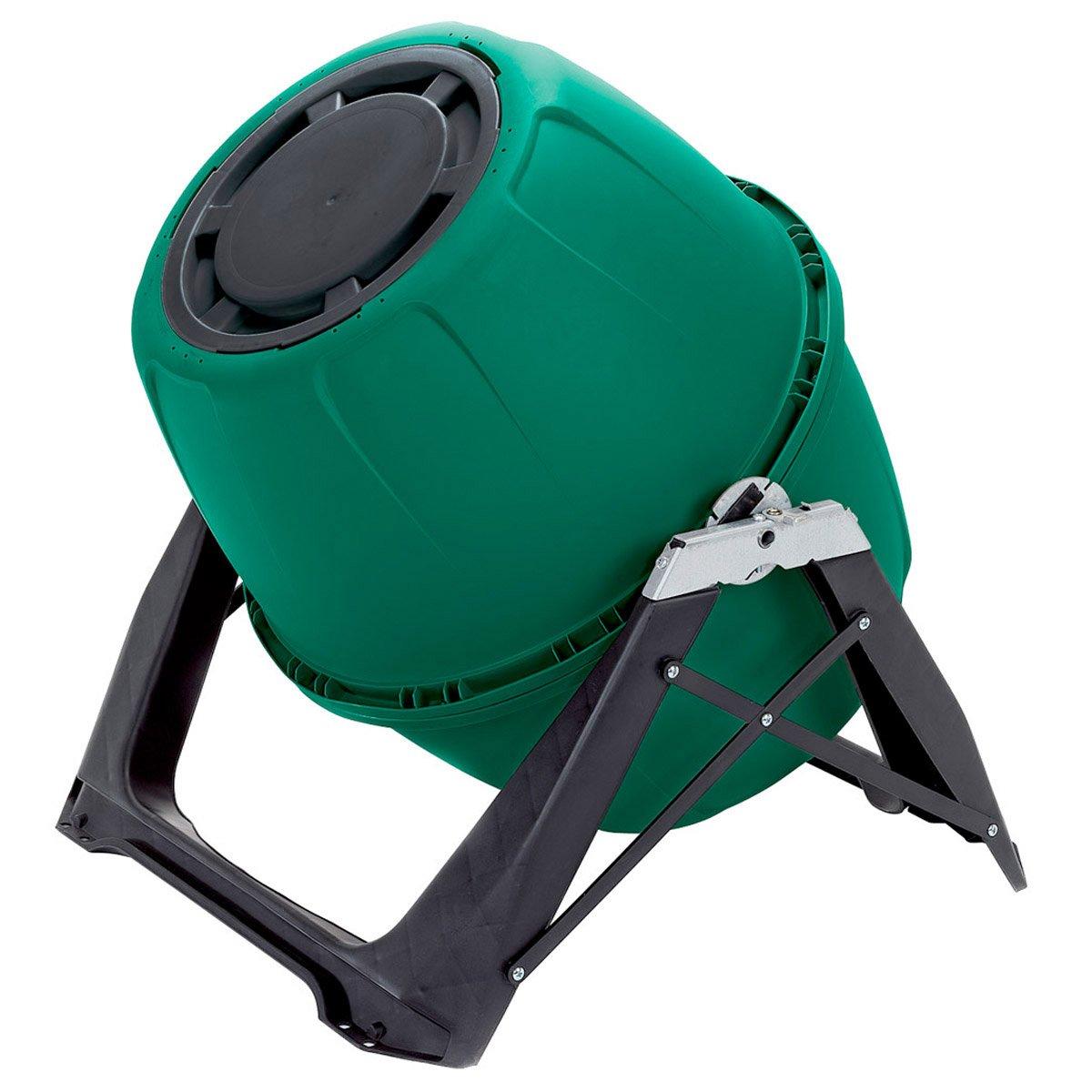 Compostador rápido con ventilación interna de UPP, seguro contra parásitos, 180 l