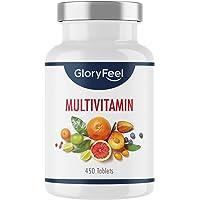 Multivitamin hög dos - 450 tabletter (15 månader) - Jämförande vinnare 2020 * - Alla värdefulla A-Z vitaminer och…
