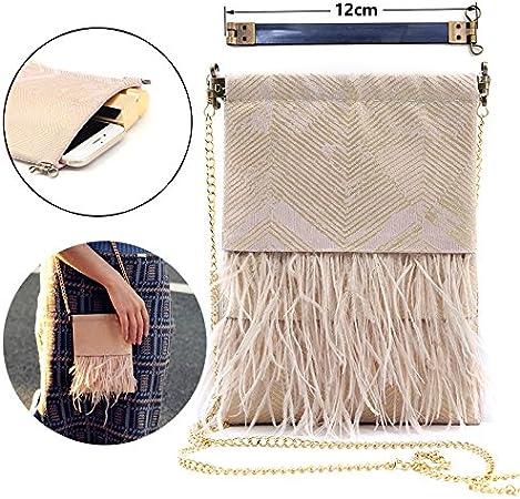 ZHONGJIUYUAN 6 Piece 3.15 inch Metal Internal Flex Frame Kiss Clasp Bulk for DIY Craft Purse Bag Wallet Sewing Making 8cm