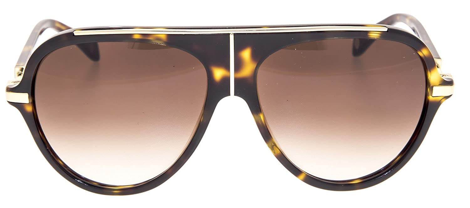 0b473c121b98e6 BALMAIN BL 2104 Tortoise Gold Gradient Aviator Sunglasses BL2104 Unisex:  Amazon.ca: Clothing & Accessories