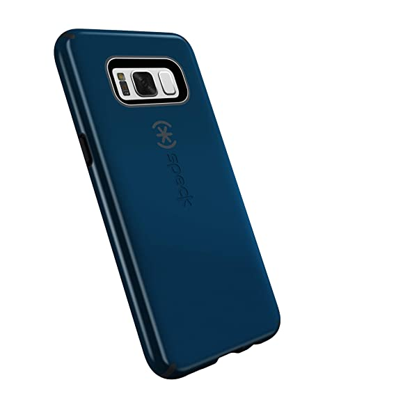 check out e4e95 47f75 Speck Products CandyShell Cell Phone Case for Samsung Galaxy S8 Plus - Deep  Sea Blue/Slate Grey