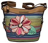 Rosetti Savannah Garden Mid Cross Body, Summertime Stripe