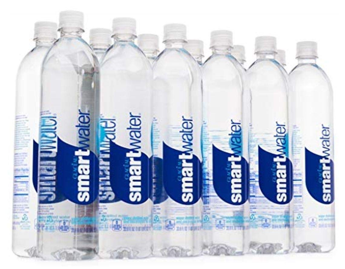 Smart Water Bottled Water, 1L, 12 ct (2 Cases)