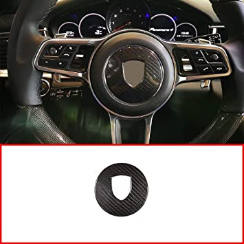 Dry Carbon Steering Wheel Paddle Shifter For Porsche 718 Panamera Macan Cayenne