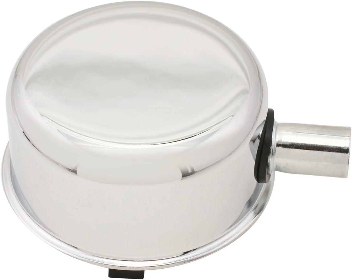 Mr. Gasket Chrome Oil Filler Cap with Pcv Tube