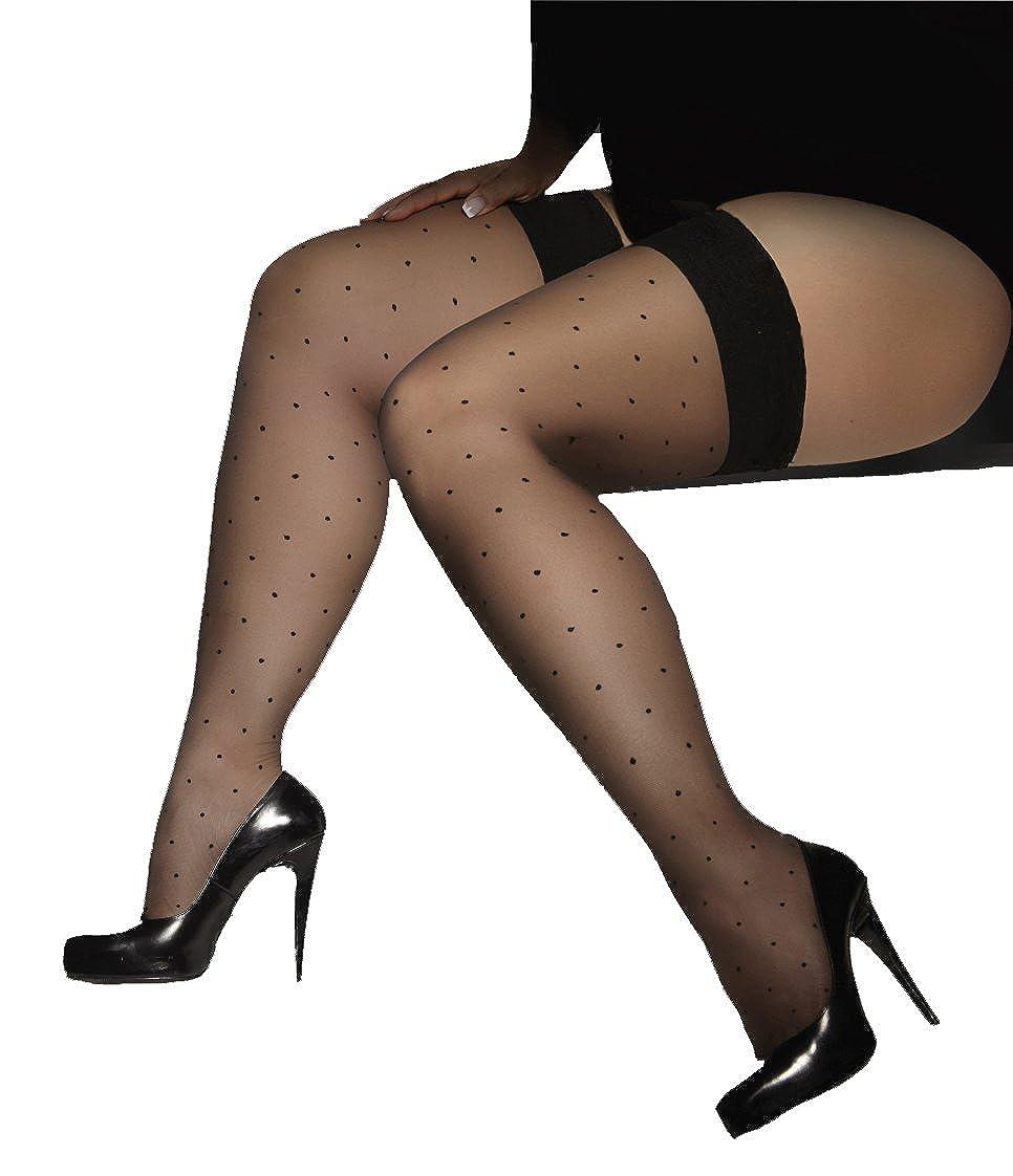 Adrian wonderful ultra sheer comfortable thigh high stockings Gwenn 15 Denier.