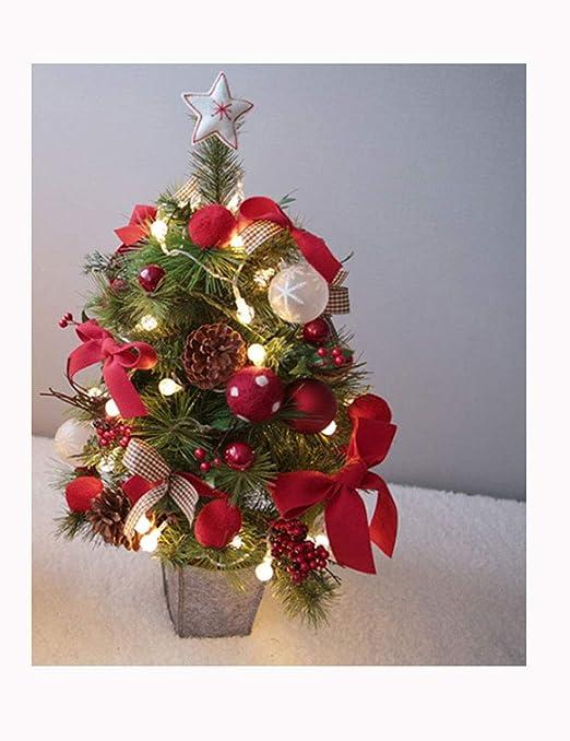 Shhaljj2 Decoración de Escritorio Decoración de Navidad 23in ...