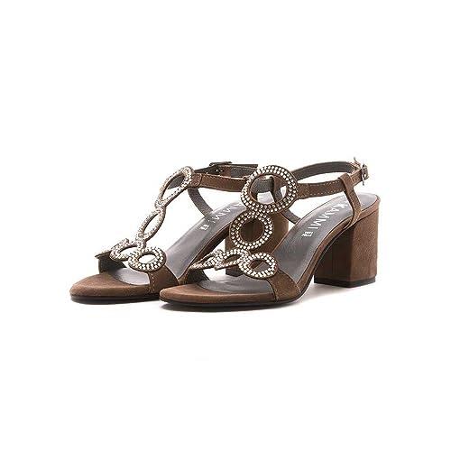 Kammi Grigio36Amazon Sandalo Morgana itScarpe Borse E 0w8XnOkP