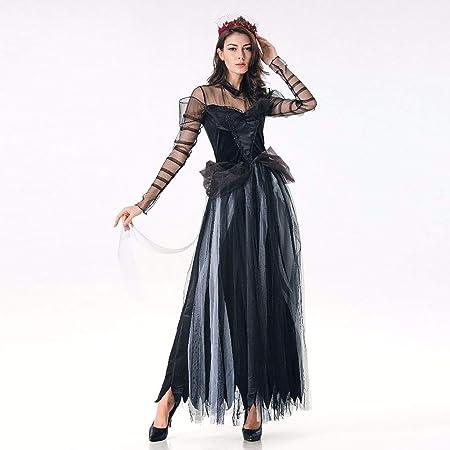 Amazon.com: Disfraz gótico de Halloween para mujer, de ...