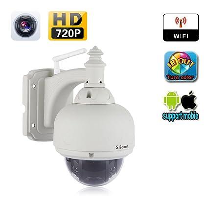Sricam SP015 - Cámara de vigilancia IP, 720 p, inalámbrica