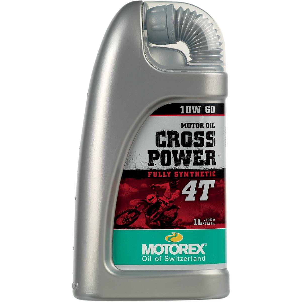 Motorex Cross Power 4T Oil - 10W60 - 1L. 171-403-100 by Motorex 2001225390004