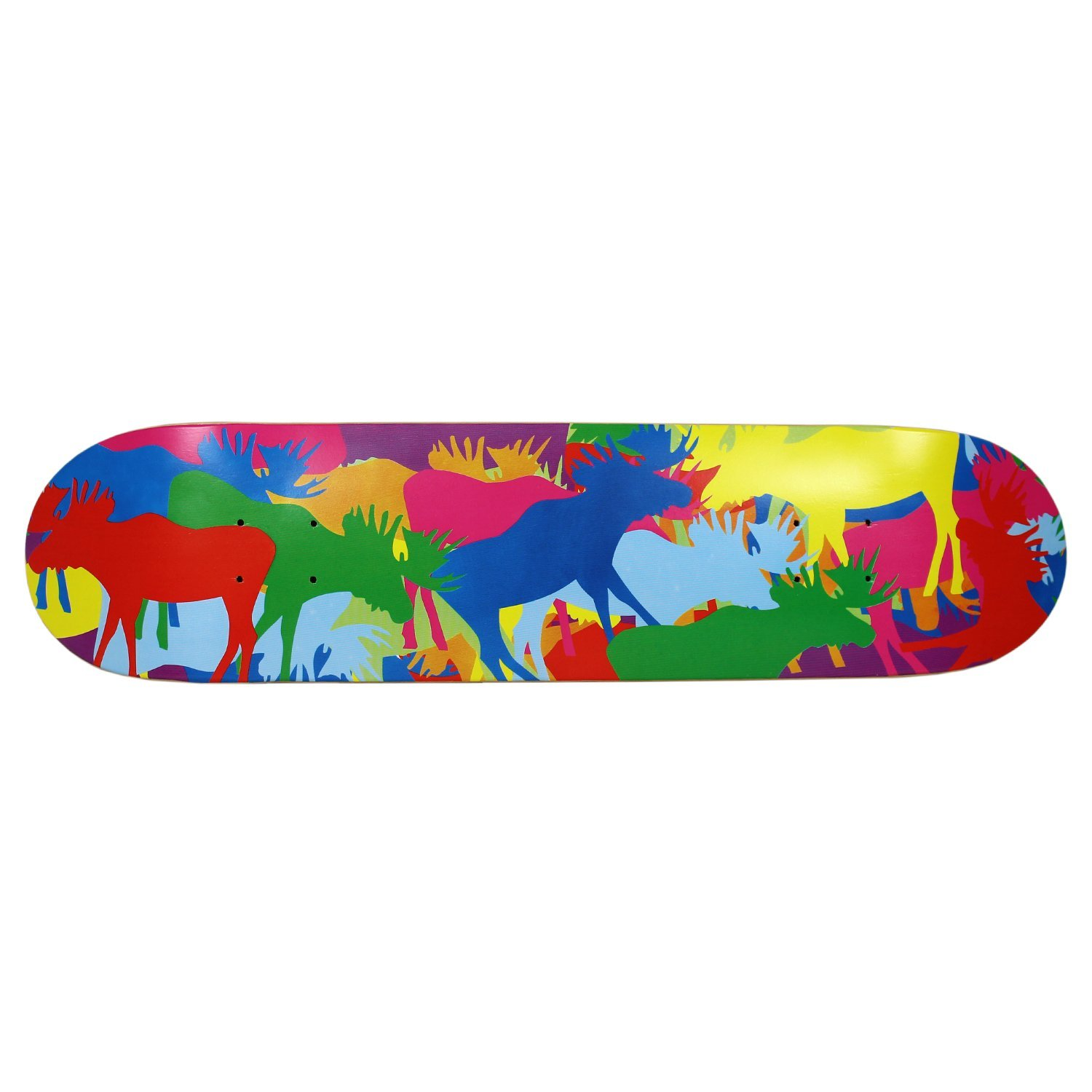 Moose Allover Deck 7.5 Keystone Skate Supply DMG-ALL