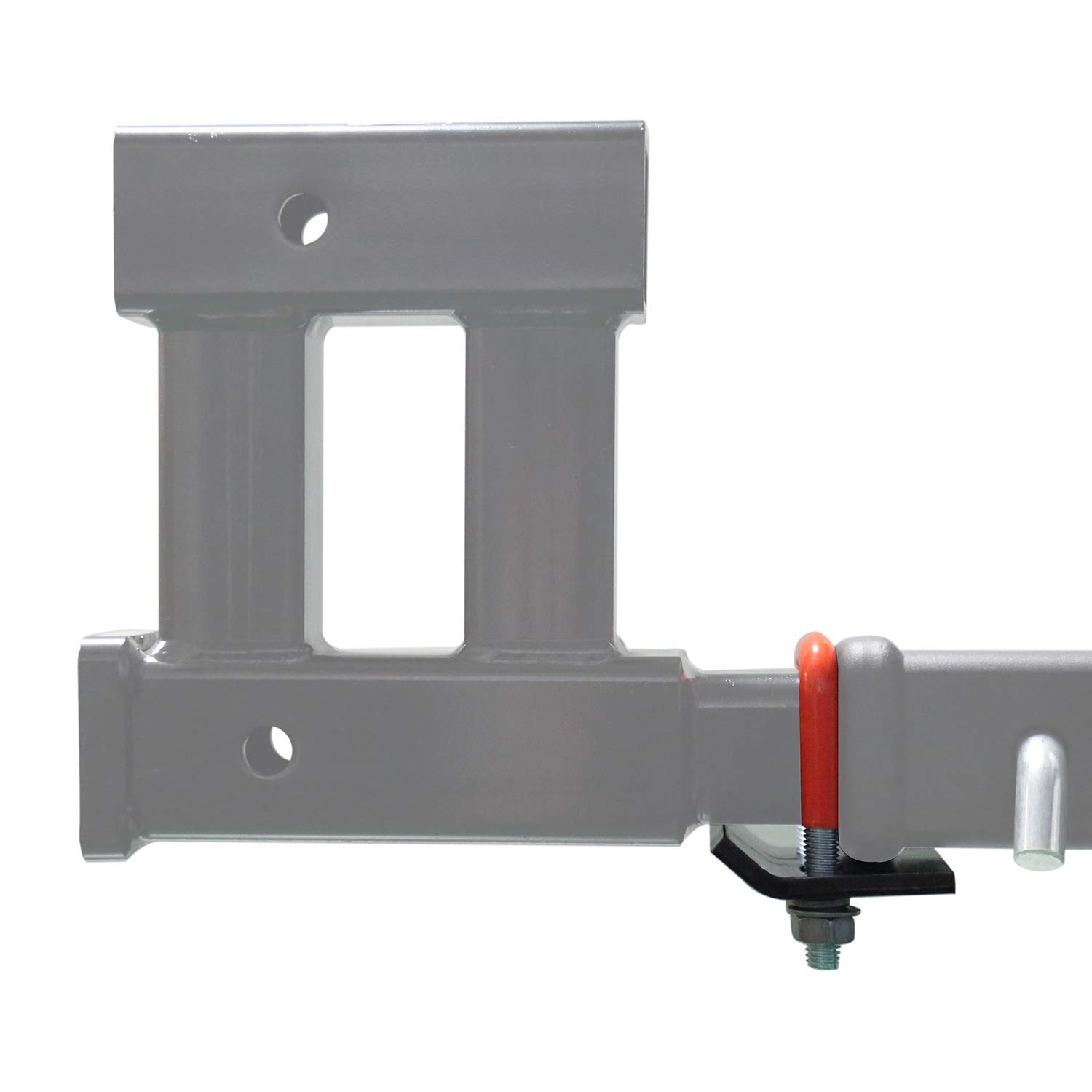 Rubber-Coated No Rattle Noise HiTow Trailer Hitch Tightener Anti-Rattle Stabilizer 2 /& 1.25 Hitch Corrosion Resistant