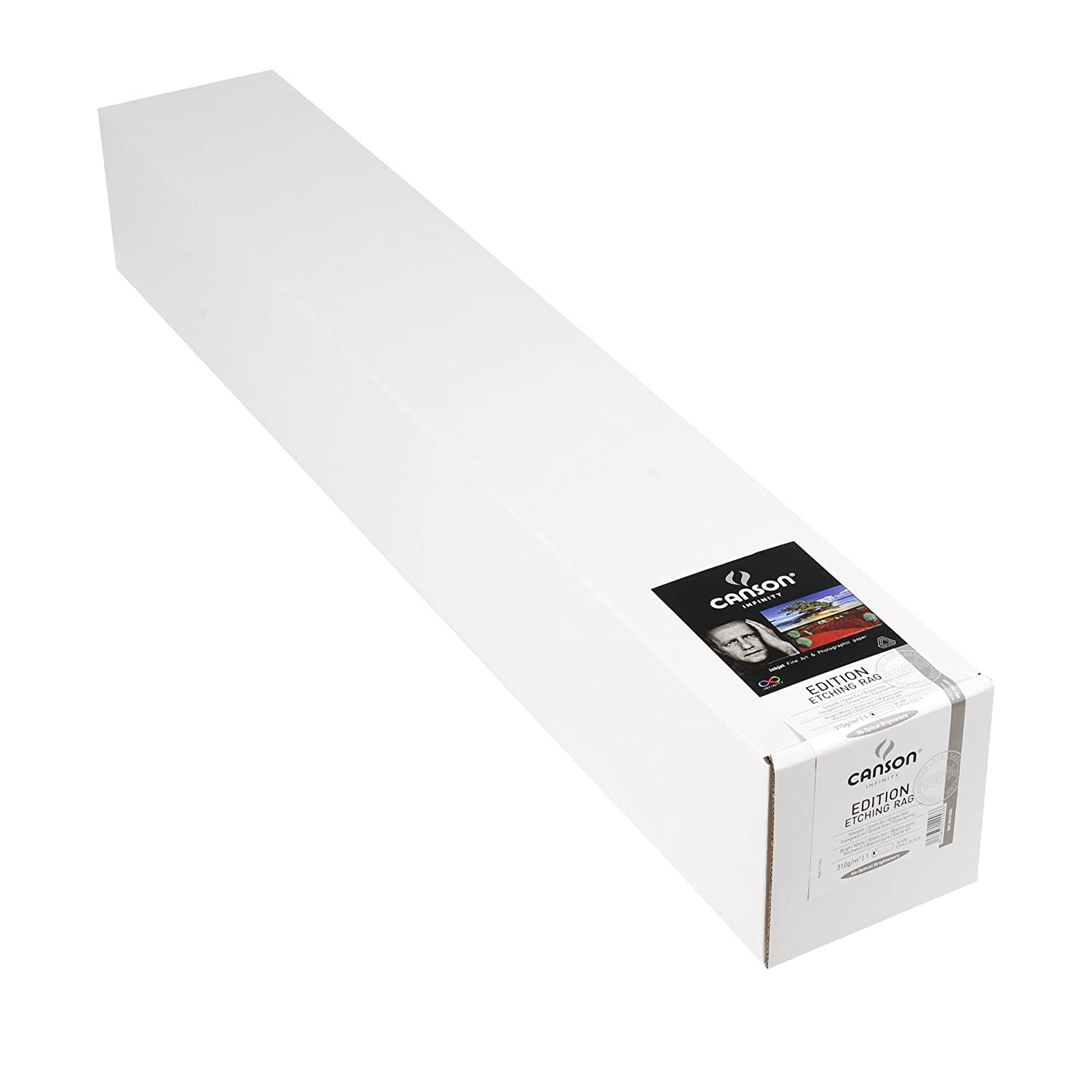 Acid Free for Printmaking 25 Sheets 8.5 x 11 Inch Canson Infinity Edition Etching Rag Fine Art Paper Bright White