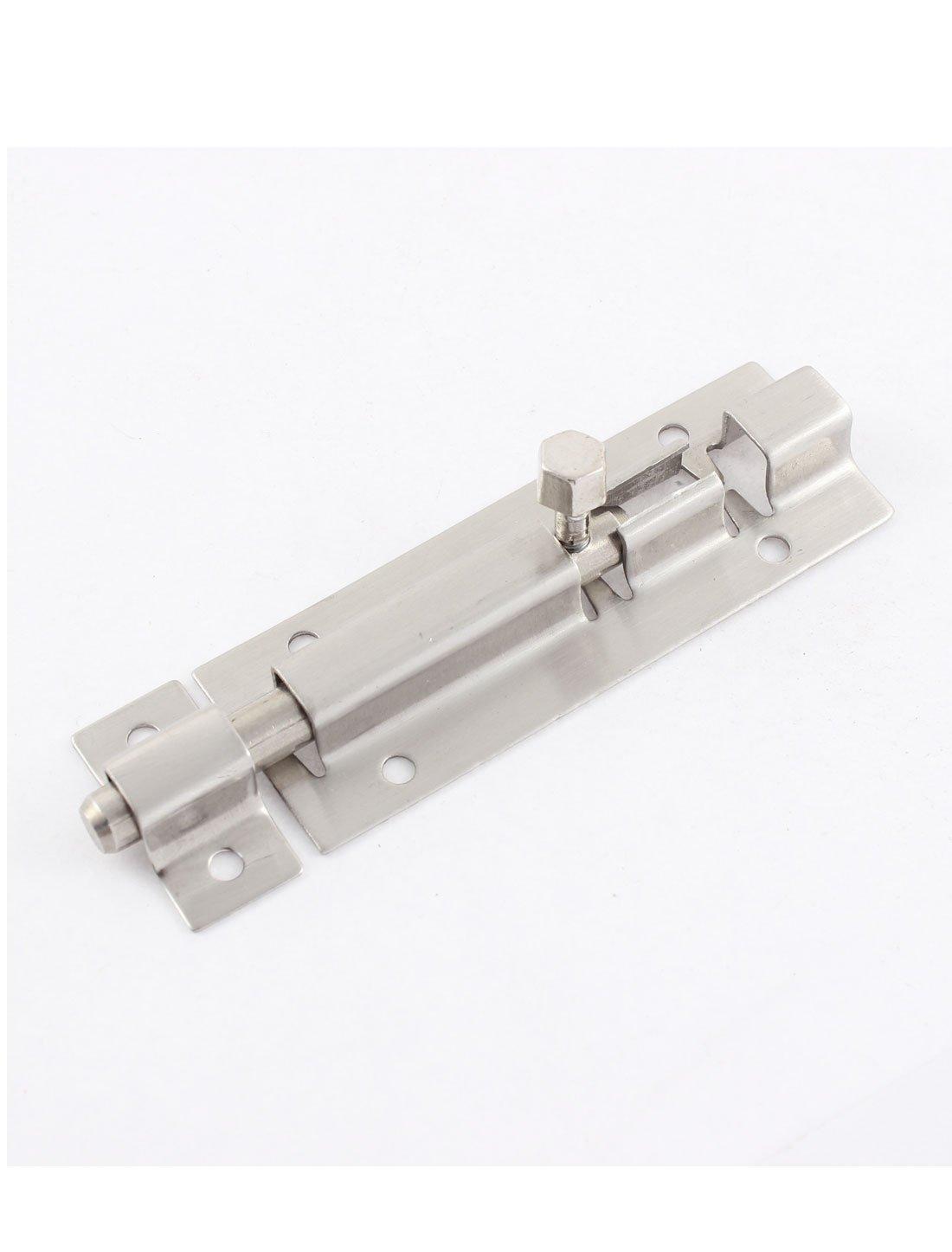 5 St/ück Edelstahl Verschluss Schiebet/ür T/ür T/ür Schrankschloss Schrauben 7,5 cm