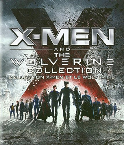 X-Men and the Wolverine Collection (X-men / X2: X-Men United / X-Men The Last Stand / X:Men Origins Wolverine / X-Men First Class / The Wolverine (Wolverine X)