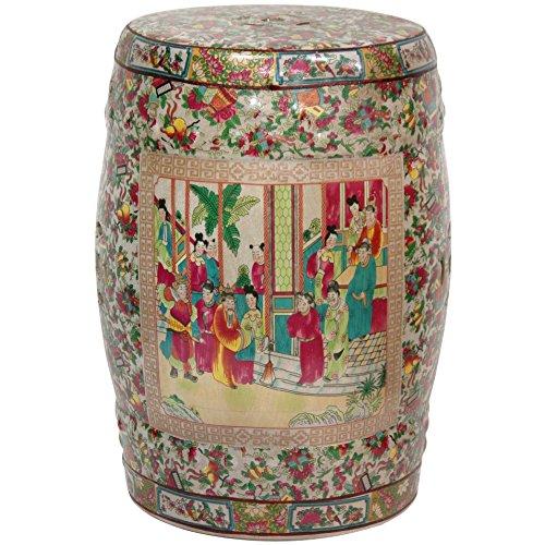 Chinese Ceramic Porcelain Garden Stool - Oriental Furniture 18