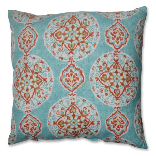 Pillow Perfect Mirage Medallion Floor Pillow, 24.5-Inch by Pillow Perfect