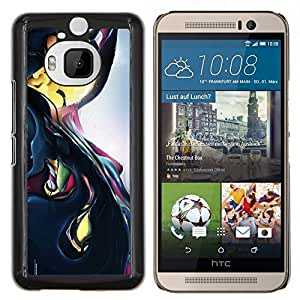 Stuss Case / Funda Carcasa protectora - Reflectante Líquido abstracto dinámico - HTC One M9+ M9 Plus