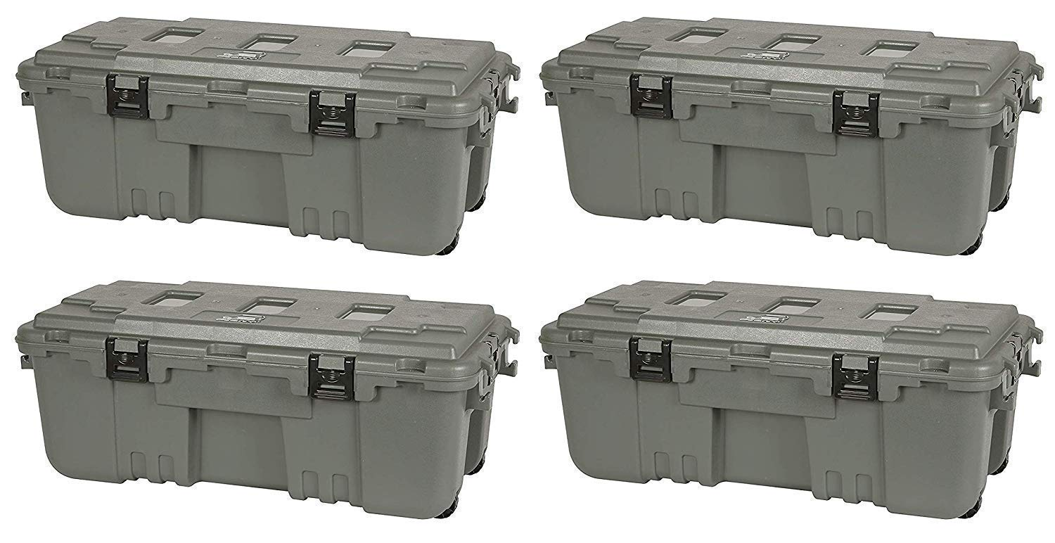 Plano 1819 Storage Trunk (Pack of 4) by Plano