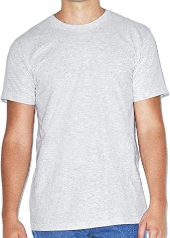 American Apparel - Camiseta lisa básica de algodón super suave de ...