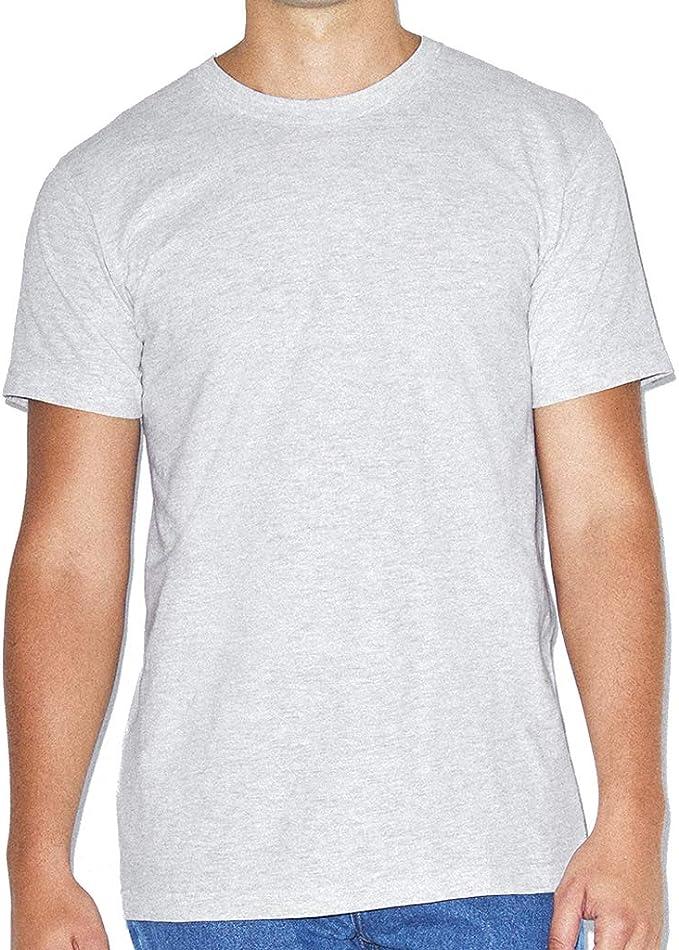 American Apparel - Camiseta lisa básica de algodón super suave de manga corta Unisex hombre mujer: Amazon.es: Ropa y accesorios