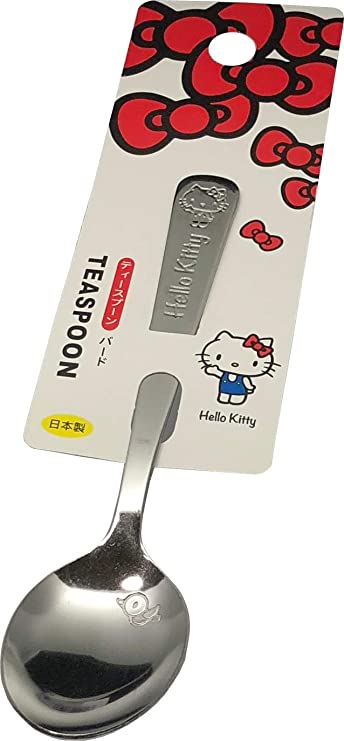 """Sanrio Hello Kitty Soup Ladle 11/"""" Stainless Steel Spoon Cooking Utensils"""