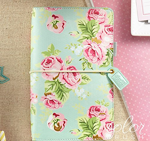 Webster's Pages Mint Floral Travelers Planner (TJ001-MF) Photo #2