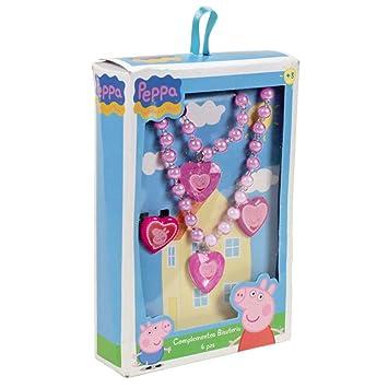 Peppa Pig - Estuche con Collar y Joyas, Color Rosa (Cerdá ...