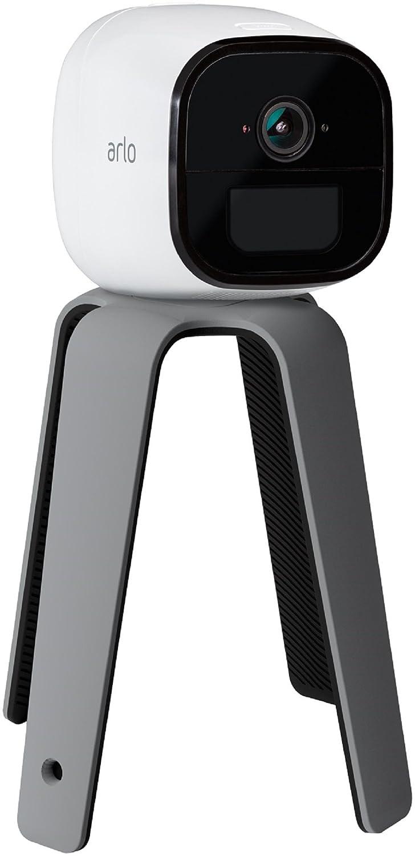 Arlo VMA4500-10000S Montaje Quadpod Que se Puede Doblar, agarrar y Ajustar a Cualquier Superficie para videocámaras Pro Go sin Cables, Gris, ...