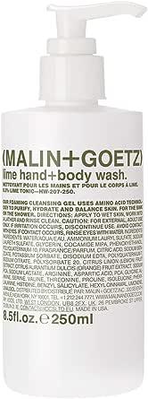 Malin + Goetz Lime Hand and Body Wash, 250ml