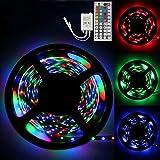 Clothful 3M RGB 3528 180 Led SMD Flexible Light Strip Lamp+44 Key IR Remote Controller
