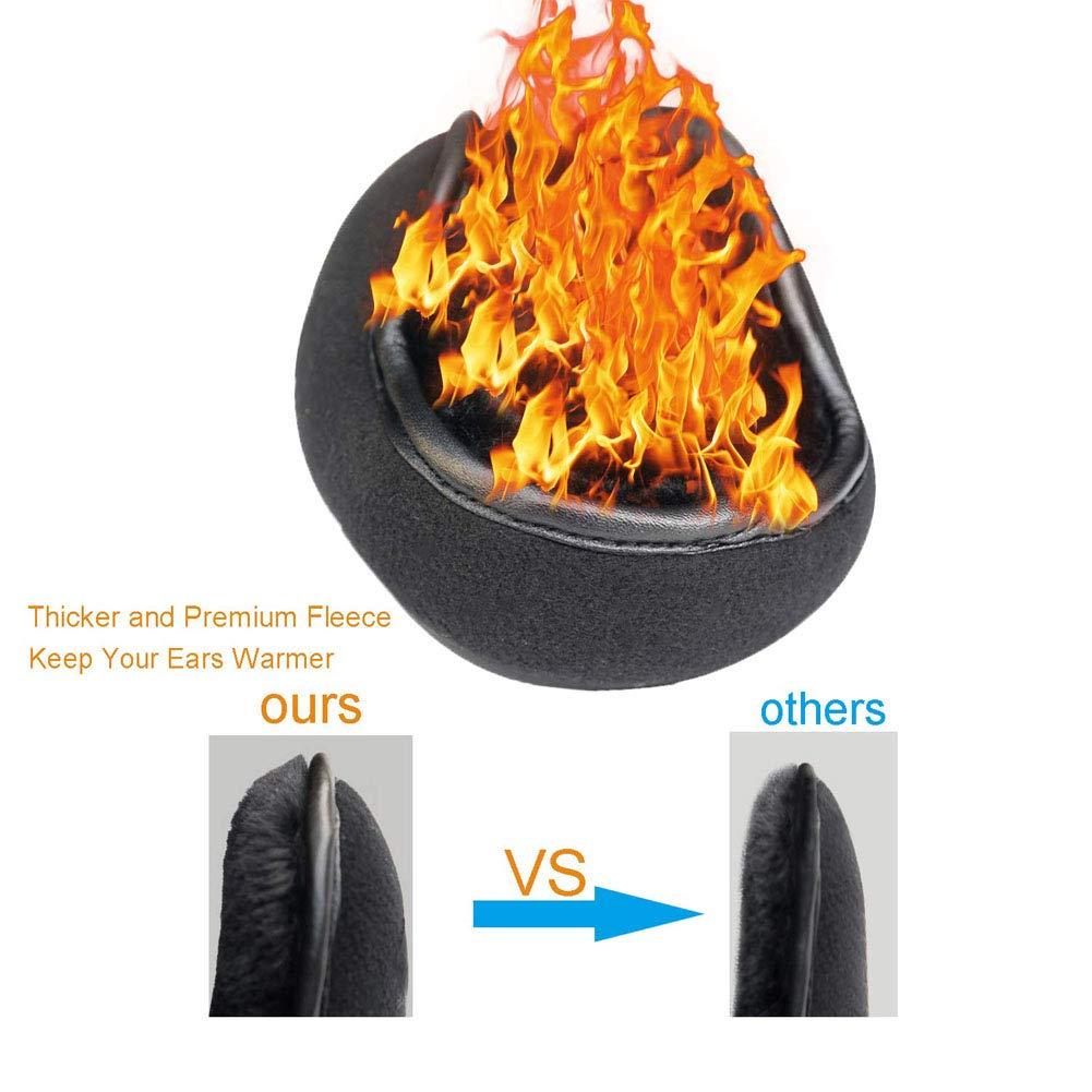 Mens /& Womens Foldable Earmuffs Keep the Ears Warm Winter Outdoor Ear Muffs