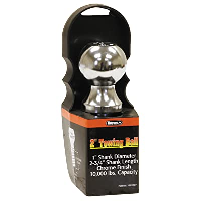"Buyers Products 1802007 Ball (Chrome 2"" x 1"" x 2.75"",Capacity 10000 lbs): Automotive"