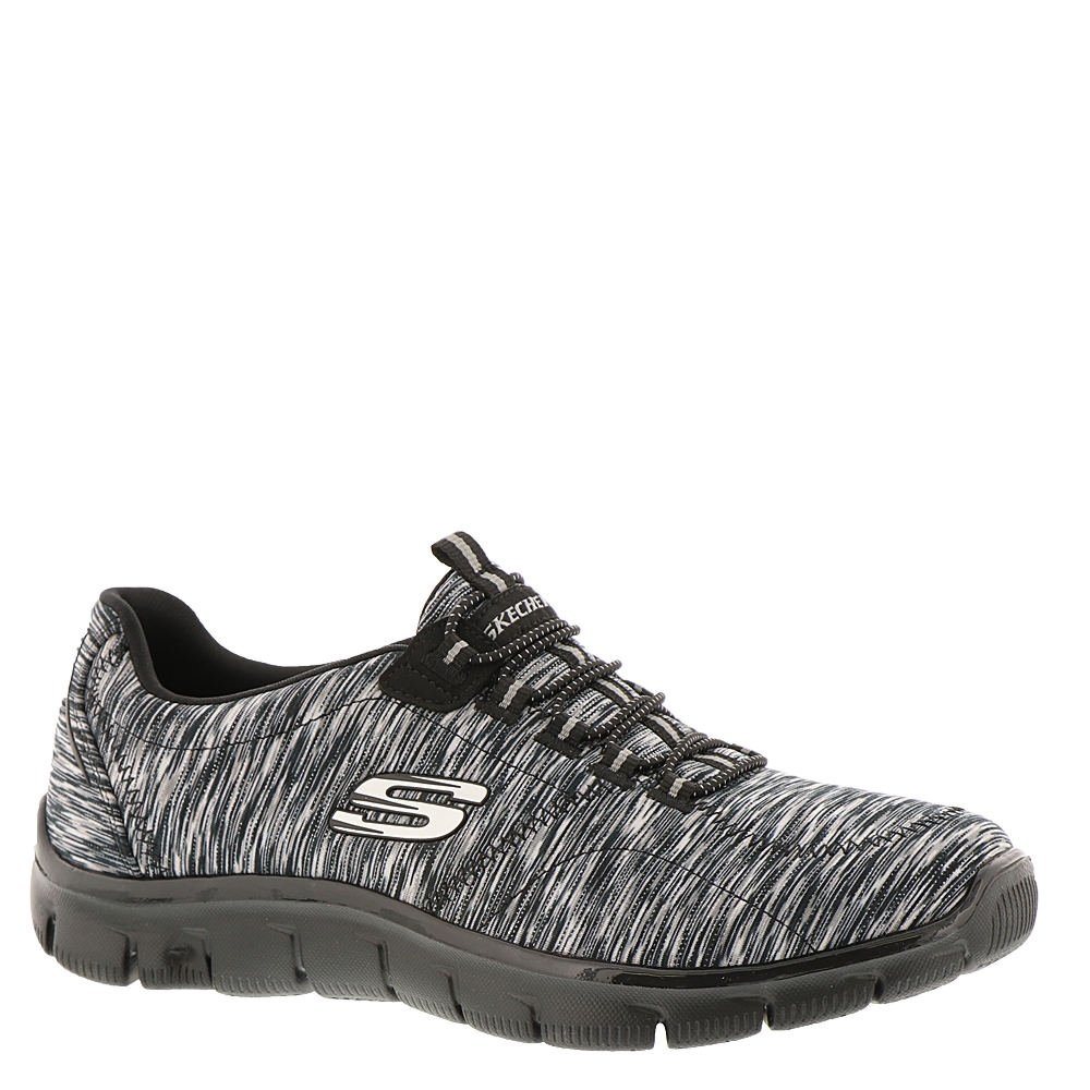 Skechers Relaxed Fit Empire Game On Womens Slip On Sneakers Black/Charcoal 11