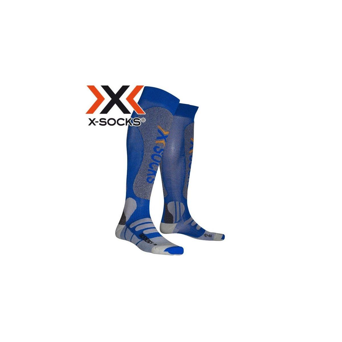 X-Socks X Bionic Energizer - Calcetines de esquí unisex Talla:39-41 EU: Amazon.es: Deportes y aire libre