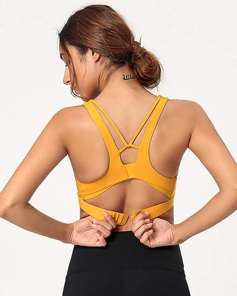 UR MAX BEAUTY Sujetador Deportivo De Yoga para Mujer Vendaje ...