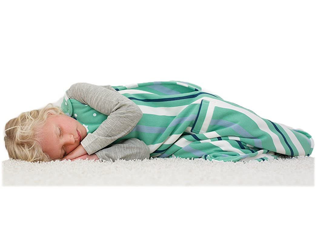 Merino Kids Winter Sherpa-Weight Baby Sleep Bag For Babies 0-2 Years, Green/Navy: Amazon.es: Ropa y accesorios