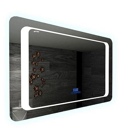Miroir LED Salle de Bain Anti-buée avec Bluetooth Musique ...