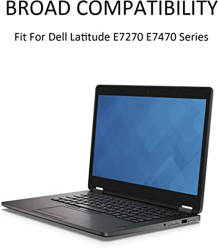 ANTIEE 55Wh 7.6V J60J5 MC34Y Laptop Bater/ía para DELL Latitude E7270 P26S001 Latitude E7470 P61G001 Series Notebook R1V85 451-BBSX 451-BBSY 242WD 1W2Y2 GG4FM 4Cell